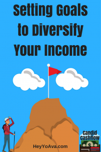 Setting Goals to Diversify Your Income