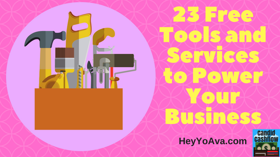 23 Free Tools and Services To Power Your Business – The Candid Cashflow Podcast – Episode 9