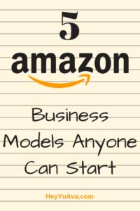 amazon business models