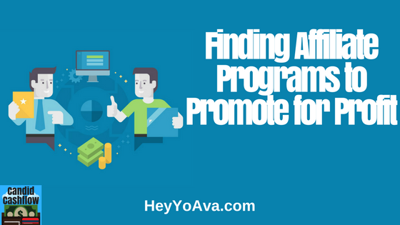affiliate programs to promote for profit