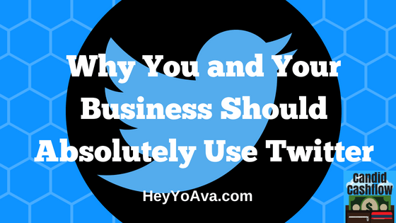 Why You and Your Business Should Absolutely Use Twitter – The Candid Cashflow Podcast – Episode 28