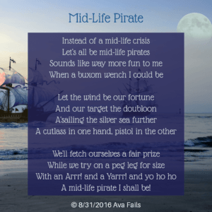 mid life pirate by ava fails