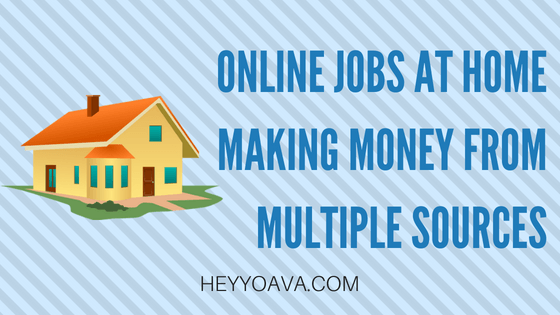 Working Online Jobs at Home to Make Money From Multiple Sources – The Candid Cashflow Podcast – Episode 32
