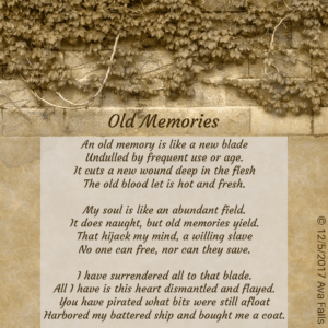 old memories by ava fails