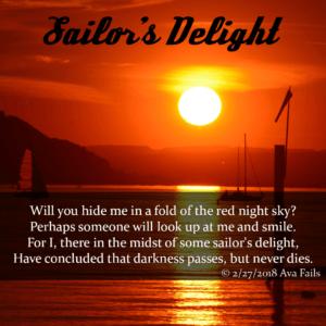 sailors delight by ava fails