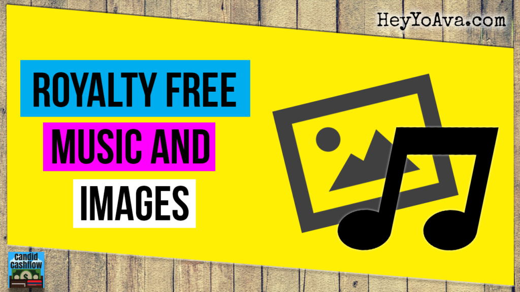 where to find royalty free music and images