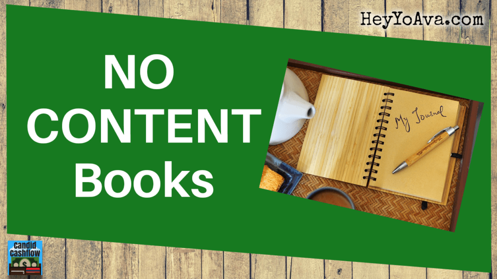how to publish book with no content