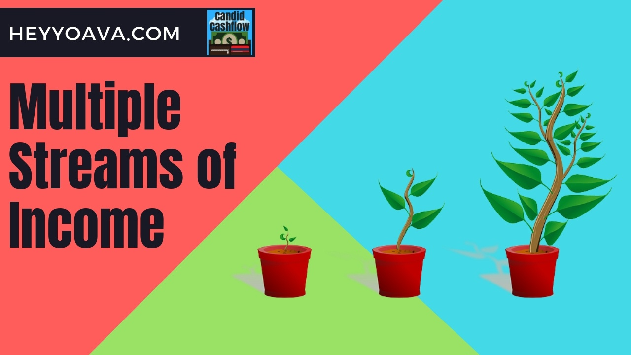 Multiple Streams of Income are the Secret to Making Money – The Candid Cashflow Podcast – Episode 43