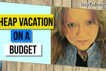 plan a cheap family vacation on a budget