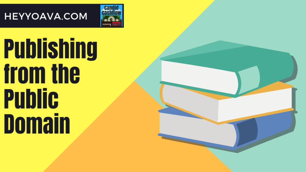 how to publish public domain books on amazon