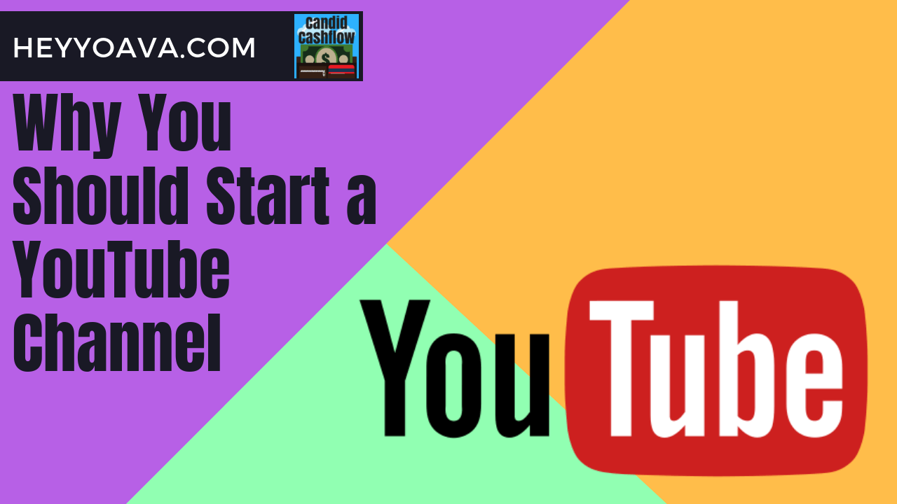 Why You Should Start a YouTube Channel Even If You Don't Want to Show Your Face on YouTube – The Candid Cashflow Podcast – Episode 50