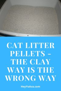 cat litter pellets