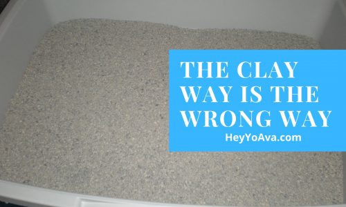 Cat Litter Pellets – The Clay Way is the WRONG Way